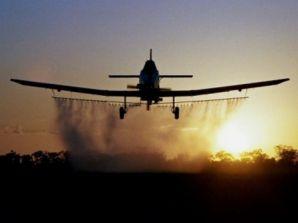 Второ авионско прскање против комарци